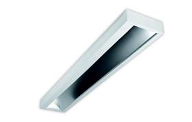 Asymmetrisch in-/opbouw LED armatuur