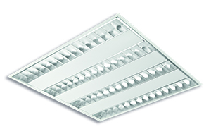 afb. LED Inlegarmatuur met parabool spiegel