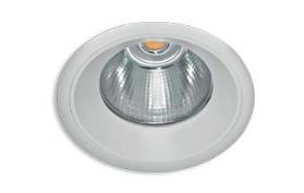 LED downlighter basic Ø 125mm